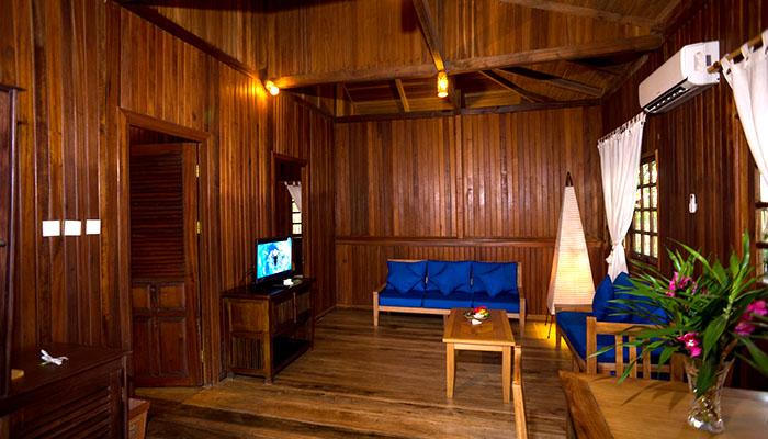 Nusa Indah Villa - Living Room